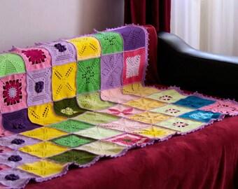 Crocheted big blanket