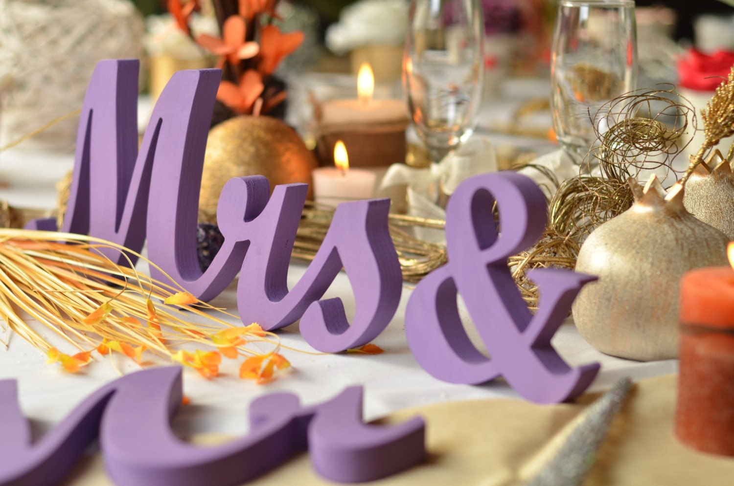 37 Beautiful Purple Party Decorations | Table Decorating Ideas
