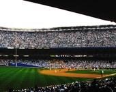 "Set of 2 New York Yankee Stadium Final Season 2008 5 x 7"" Greeting Cards"