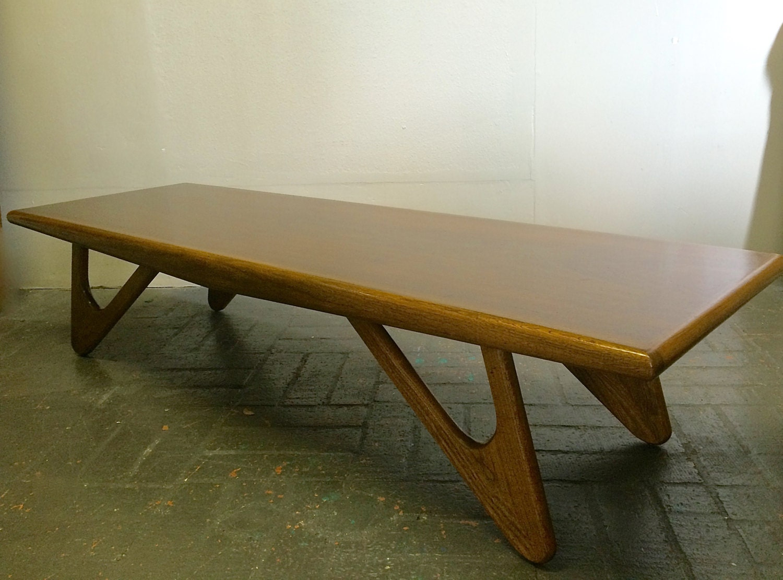 Mid Century Modern Adrian Pearsall Surfboard Coffee Table LARGE