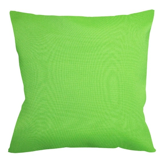 Kona Lime Outdoor Cushion Covers by HupperStore on Etsy