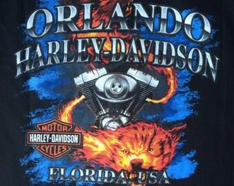 Harley Davidson T-Shirt Vintage