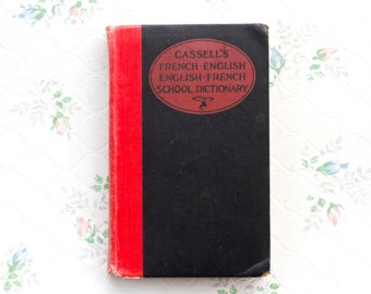 Cassel's French Englis - English French Dictionary