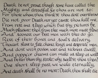 death be not proud essay death be not proud analysis john donne summary