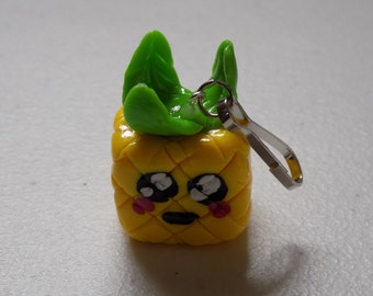 Large Pineapple Polymer Clay Charm