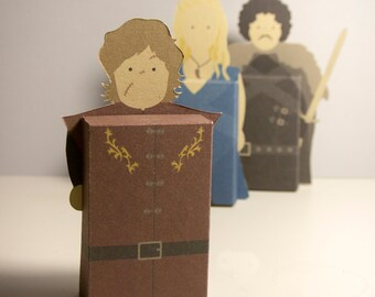 Game of Thrones emotibox, funny greeting card, fridge magnet, birthday card, Jon Snow card, Tyrion Lannister card, Daenerys Targaryen card