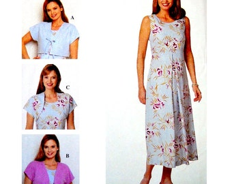 Simplicity Sewing Pattern 8649 Misses' / Miss Petite Jacket, Dress  Size:  Y  18-20-22  Uncut