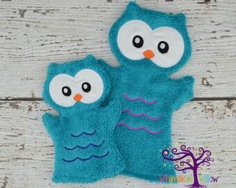 Owl Bath Buddy Hand Puppet
