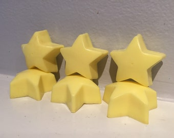 Star Soaps / Star Soap Set / Twinkle Twinkle Little Star Soaps / 0.5 oz Soaps / 5 oz total/ Goat Milk Soap / Baby Shower Favor / Party Favor