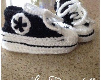 """Slippers """"Converse"""" style"""