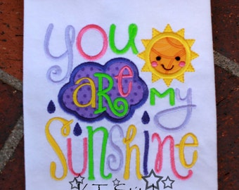 You are my Sunshine Bodysuit or T-Shirt - Personalized