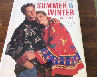 Christian de Falbe Knitting book, Eighties Designs in Handknitting book, Move aside Ugly sweaters, here comes eighties throwback style