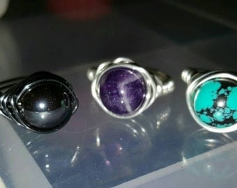 Keep Calm and Stay Rockin! Rings