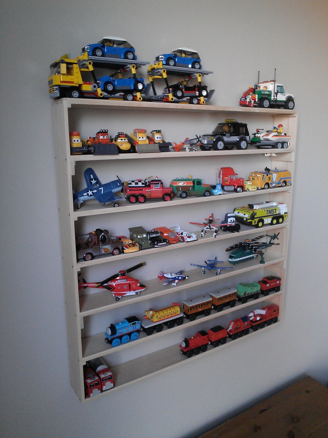 Lego Wall Display Rack, Toy Storage, Minifigures, Boy Room Decor, Storage At