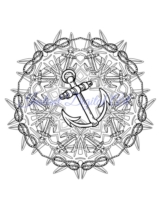 nautical coloring pages for adults - photo#9