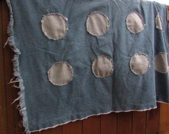 Snowberry Crocus Denim Blanket