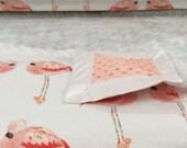Little Oasis Custom Nursery Pink Flamingo Designs. Create a nursery you love starting with crib sheet, crib skirt, changing pad cover!