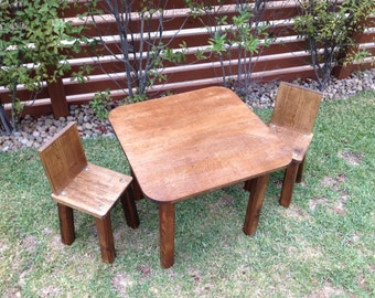Kids Table And Chairs Childrens Table And Chairs Handmade At