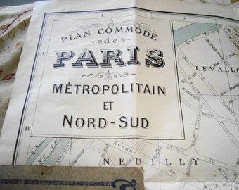 Vintage Paris Plan