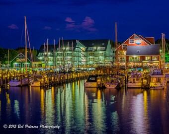 Annapolis Harbor at Night 1