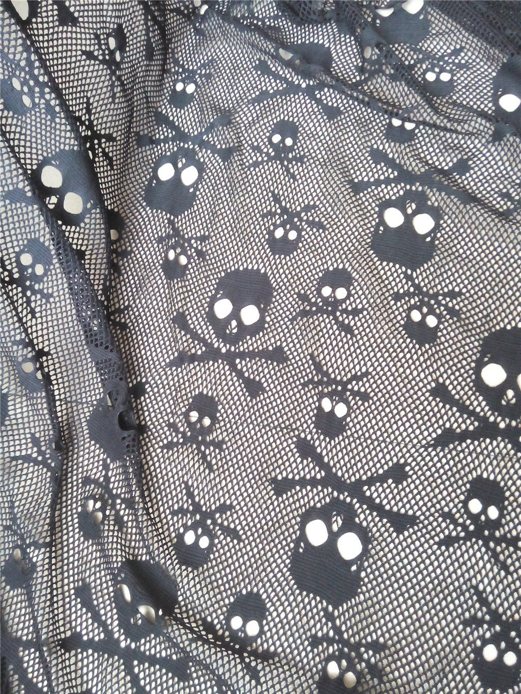 1100 - Halloween Lace Fabric
