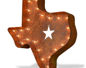 Iconics Marquee Light: Texas Lonestar