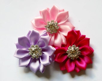 Dog collar flowers, Dog accessory, pets, dog collar, dog collar bling, collar Flower, Wedding Dog Flower, Bows for Dog, Dog Bow, pet flower