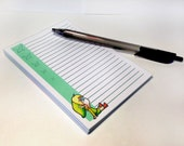 Legend of Zelda Link Notepad - 3.5 x 5 inches - 60 pages