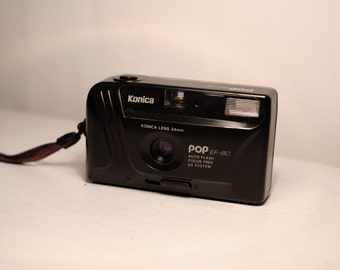 Konica Pop EF-80 Point and Shoot camera