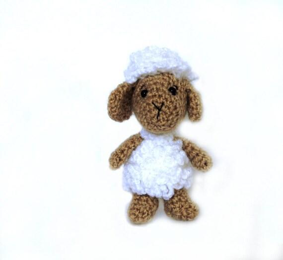 crochet sheep amigurumi sheep miniature sheep tiny sheep