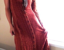 From India With Love~Authentic~Handmade Maxi