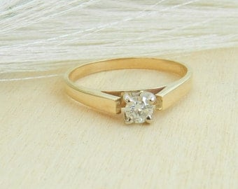 0.15ct Diamond Engagement Ring CJ14015