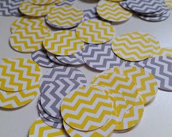 Chevron Baby Shower Confetti, Paper Confetti