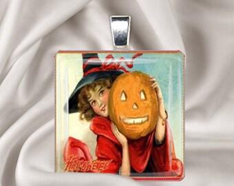 Vintage Halloween  Pendant