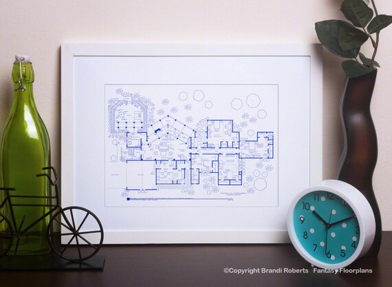 Il 570xn 805445344 9oin Golden Girls Art Print Tv Show Floor Plan Blueprint For On Create Your