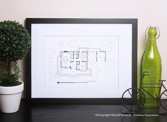 Hand Drawn Floor Plan Room