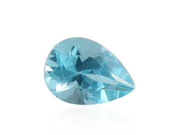 Green Apatite Pear Cut Loose Gemstone 1A Quality 7x5mm TGW 0.55 cts.
