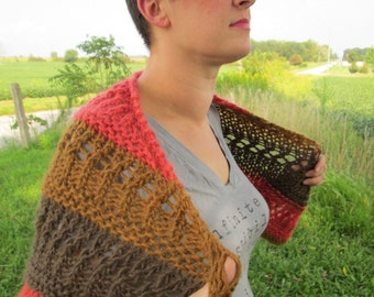 Retro Wool shawl