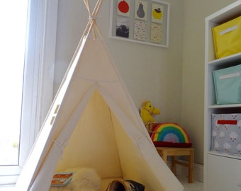 Children's Teepee Play tent with window
