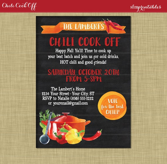 Free Printable Voting Ballot Chili Cookoff | just b.CAUSE