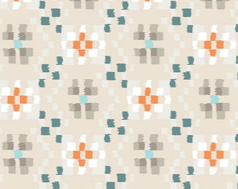 Crochetting Clouds, Wanderer Collection by April Rhodes for Art Gallery Fabrics 6046