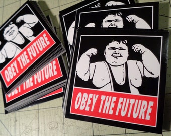 Vinyl Sticker - Obey The Future