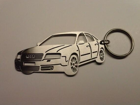 Audi A 6 Personalized Key Chain Key Chain By