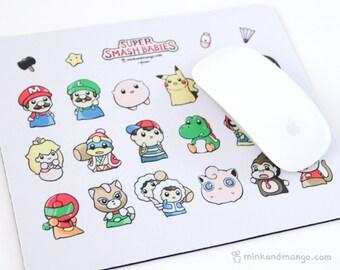 Super Smash Babies Mousepad