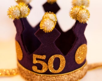 The Adult Birthday Crown Tiny Hat