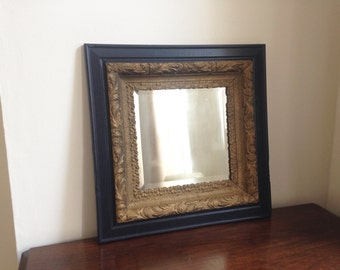 Very Old Beveled Mirror