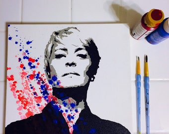 House of Cards Claire Underwood Pop Art