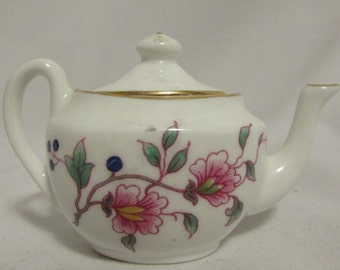 Tiny Teapot, Bone China, Hammersley, England, 1980's