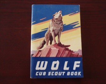 Wolf Cub Scout Book Soft Cover 1962 Boy Scouts of America Collectible BSA Book a1869