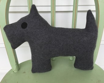 Clearance Sale: Scottie Dog, Plush Toy, Perfect for Nursery!